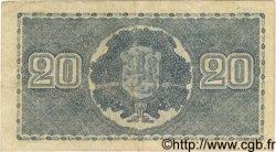 20 Markkaa FINLANDE  1945 P.078a TTB