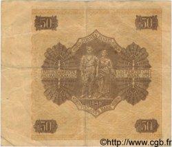 50 Markkaa FINLANDE  1945 P.079b TB+