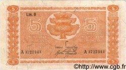5 Markkaa FINLANDE  1945 P.084 TTB+