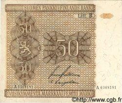 50 Markkaa FINLANDE  1945 P.087 SUP