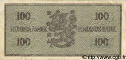 100 Markkaa FINLANDE  1955 P.091a TB+