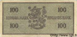 100 Markkaa FINLANDE  1955 P.091a TTB