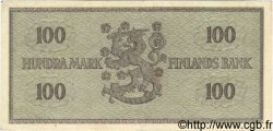 100 Markkaa FINLANDE  1955 P.091a SUP