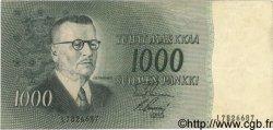 1000 Markkaa FINLANDE  1955 P.093a TTB