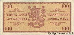 100 Markkaa FINLANDE  1957 P.097a TTB