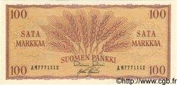 100 Markkaa FINLANDE  1957 P.097a NEUF