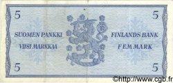 5 Markkaa FINLANDE  1963 P.099a TTB