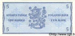 5 Markkaa FINLANDE  1963 P.099a NEUF
