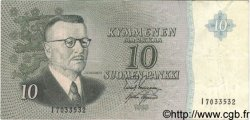10 Markkaa FINLANDE  1963 P.100a TTB