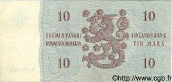 10 Markkaa FINLANDE  1963 P.100a TTB+