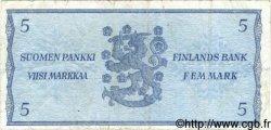 5 Markkaa FINLANDE  1963 P.103 TB