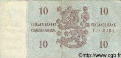 10 Markkaa FINLANDE  1963 P.104 TB+