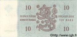 10 Markkaa FINLANDE  1963 P.104 SPL