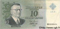 10 Markkaa FINLANDE  1963 P.104 TTB+