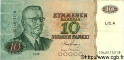 10 Markkaa FINLANDE  1980 P.112 TTB+