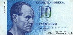 10 Markkaa FINLANDE  1986 P.113a TTB+