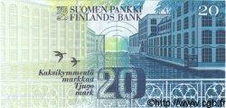 20 Markkaa FINLANDE  1986 P.122 NEUF