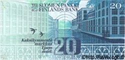 20 Markkaa FINLANDE  1993 P.123 SPL