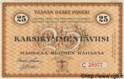 25 Markkaa FINLANDE  1918 PS.111 NEUF