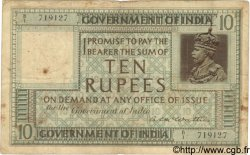 10 Rupees INDE  1917 P.005a pr.TB