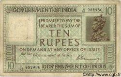 10 Rupees INDE  1917 P.006 TB