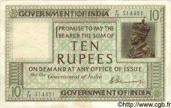 10 Rupees INDE  1917 P.006 TTB