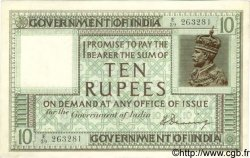10 Rupees INDE  1917 P.006 SUP