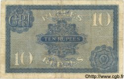 10 Rupees INDE  1917 P.007a TB
