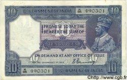 10 Rupees INDE  1917 P.007a TTB