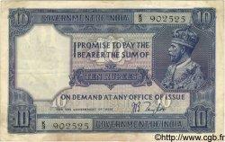 10 Rupees INDE  1917 P.007b TB+