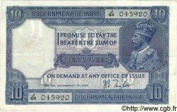 10 Rupees INDE  1917 P.007b TTB