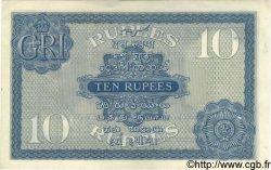 10 Rupees INDE  1917 P.007b SUP