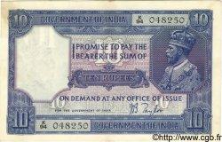 10 Rupees INDE  1917 P.007b pr.SUP