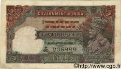 5 Rupees INDE  1928 P.015a TB