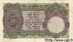 5 Rupees INDE  1928 P.015b TTB