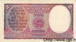 2 Rupees INDE  1943 P.017b TTB