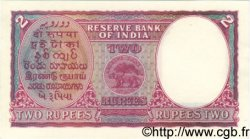 2 Rupees INDE  1943 P.017b SPL