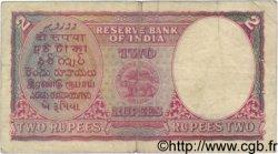 2 Rupees INDE  1943 P.017c TB