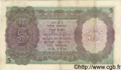5 Rupees INDE  1943 P.018b TTB