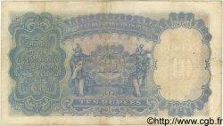 10 Rupees INDE  1937 P.019a TB