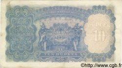 10 Rupees INDE  1937 P.019a TTB
