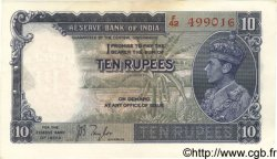 10 Rupees INDE  1937 P.019a SUP+