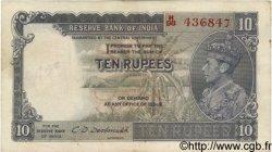 10 Rupees INDE  1943 P.019b TB
