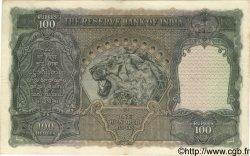 100 Rupees INDE  1937 P.020a TTB