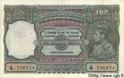 100 Rupees INDE  1943 P.020c TTB