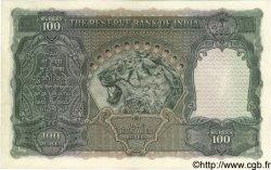 100 Rupees INDE  1943 P.020f TTB+