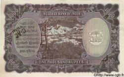 1000 Rupees INDE  1937 P.021b TTB+