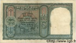5 Rupees INDE  1943 P.023a TTB