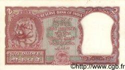 2 Rupees INDE  1957 P.029b SPL