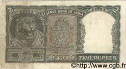 2 Rupees INDE  1962 P.031 TB+